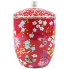 Storage jar Chinese Rose pin